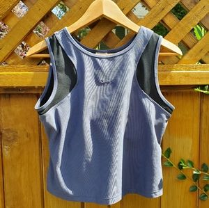 Blue Nike Run Dri Fit Tank Size L